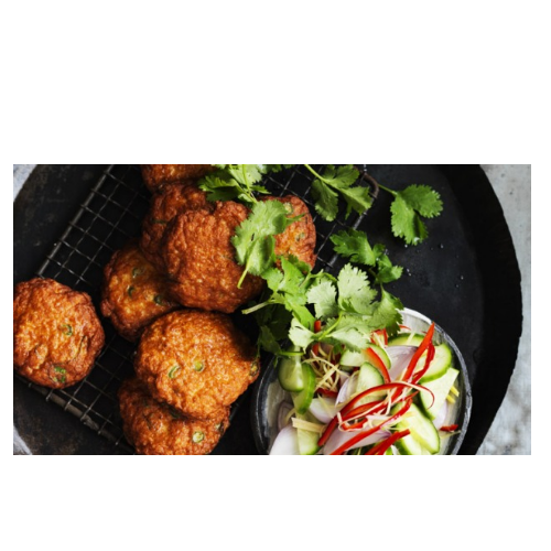 Thod Man Pla - Thai Fish Cakes