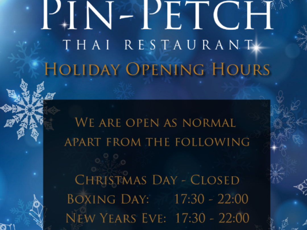 Seasons Opening Hours
