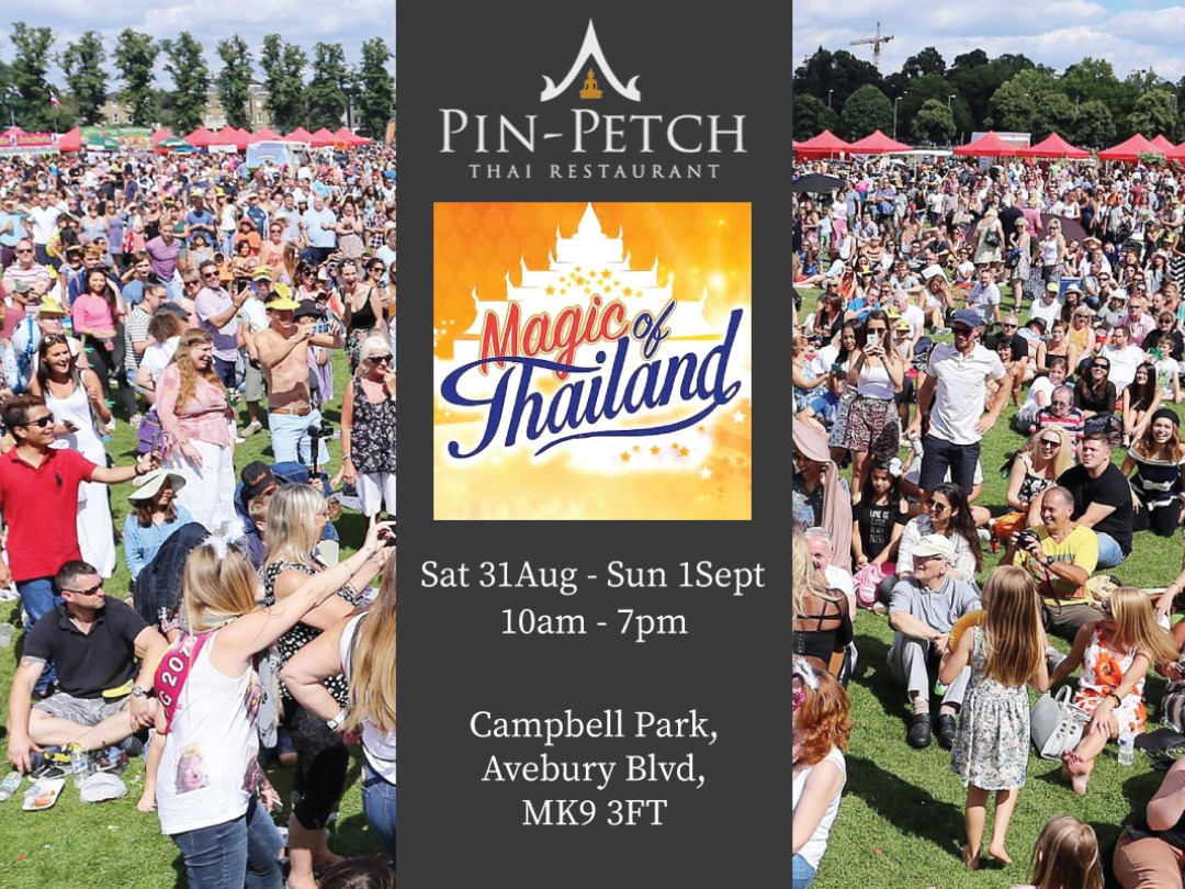 Pin Petch @ The Magic of Thailand Festival this weekend!
